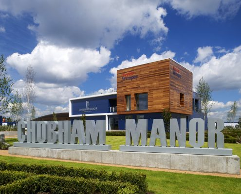 Chobham Manor sales centre