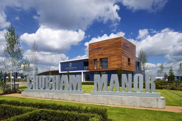 Chobham Manor sales centre